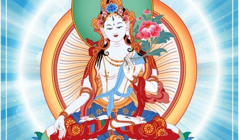 White Tara (Cintachakra) Mantra for Long Life: Meaning & Benefits