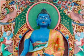 Buddha Akshobhya (Mitrugpa) Dharani Mantra + Bija Mantra - Om Akshobhya Hum